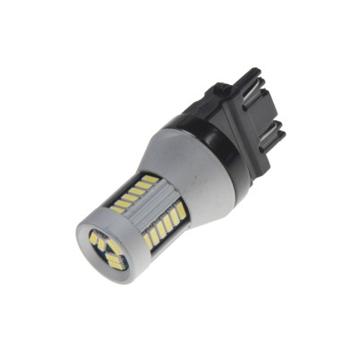LED T20 (3157) bílá, 12-24V, 30LED/4014SMD