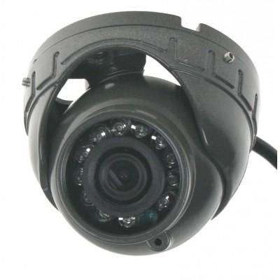 AHD 720P kamera 4PIN CCD SHARP s IR, vnější v kovovém obalu, tmavě šedá