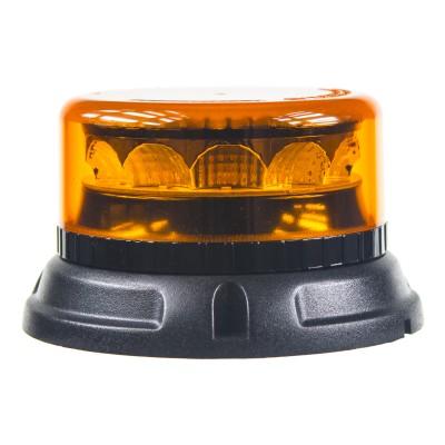 PROFI LED maják 12-24V 12x3W oranžový ECE R65 133x76mm