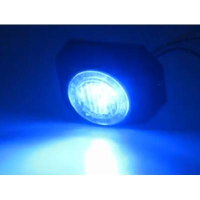PROFI výstražné LED světlo vnější, 12-24V, modré, ECE R65