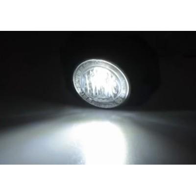 PROFI výstražné LED světlo vnější, 12-24V, bílé, ECE R65
