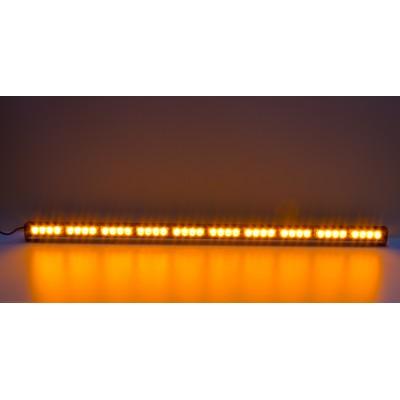 LED světelná alej, 40x LED 3W, oranžová 1210mm, ECE R10 R65