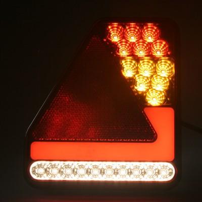 Sdružená lampa zadní LED 12V, ECE pravá
