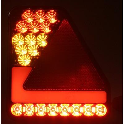 Sdružená lampa zadní LED 12V, ECE levá