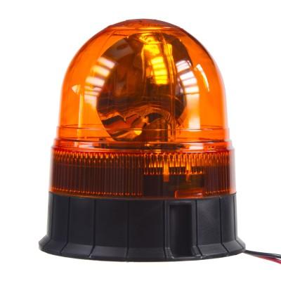 Halogen maják, 12-24V, oranžový fix, ECE R65