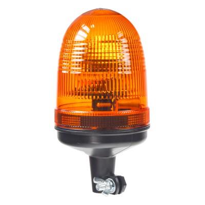 Halogen maják, 12-24V, oranžový na držák, ECE R65