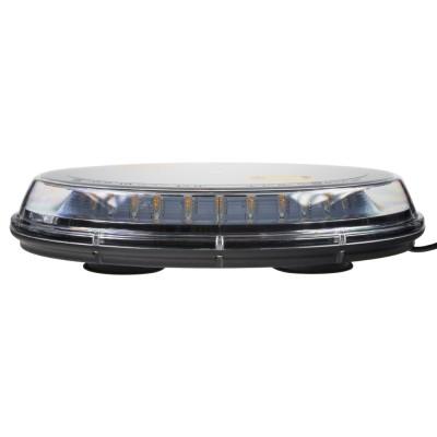 LED rampa oranžová, 32LEDx3W, magnet, 12-24V, 395mm, ECE R65/R10