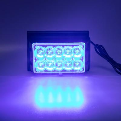PREDATOR dual 10x1W LED, 12-24V, modrý, ECE R10