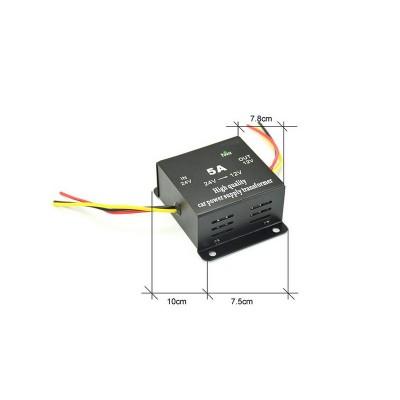 Lineární měnič napětí 24/12, 5A s ACC kabelem