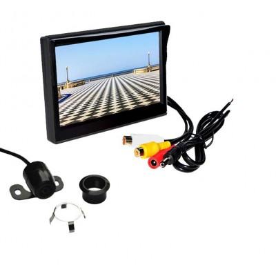 """Parkovací kamera s LCD 5"""" monitorem"""