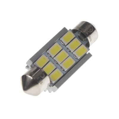 LED sufit (39mm) bílá, 12V, 9SMD 3W
