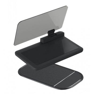 Držák HUD s reflexním panelem (zrcátkem)