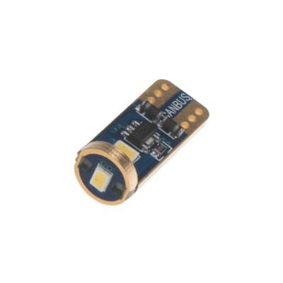 x LED T10 bílá, 12V, 3LED/3623SMD