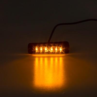 LINEAR LED 6x5W LED, 12-24V, oranžový, ECE R65