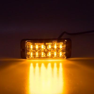 LINEAR LED dual 12x5W LED, 12-24V, oranžový, ECE R65