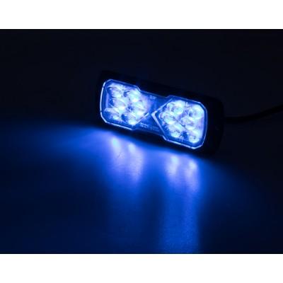 PROFI LED výstražné světlo 12-24V 11,5W modrý ECE R65 114x44mm