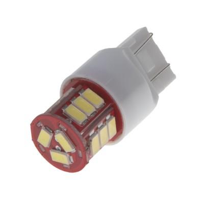 LED T20 (7443) bílá, 12-24V, 18LED/5730SMD