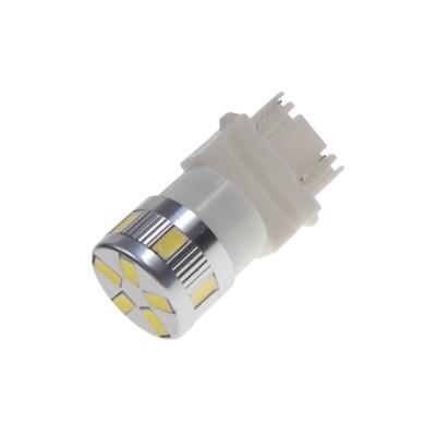 LED T20 (3157) bílá, 12-24V, 11LED/5730SMD