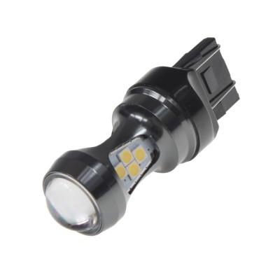 LED T20 (7443) bílá, 12-24V, 16LED/3030SMD