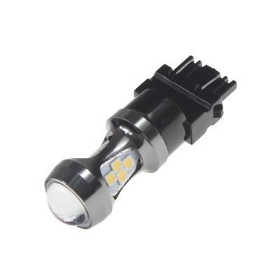 LED T20 (3157) bílá, 12-24V, 16LED/3030SMD