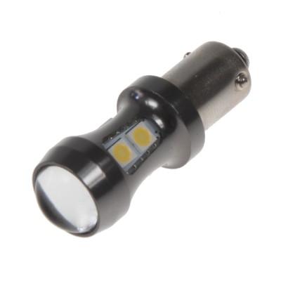LED BAX9s bílá, 12-24V, 9LED/3030SMD