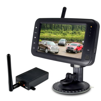 """SET bezdrátový digitální kamerový systém s monitorem 4,3"""" / Transmitter"""