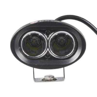 LED světlo na pracovní stroje 10-60V, 2x10W, R10