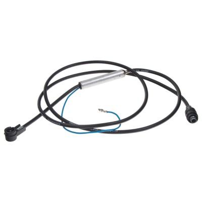 Adaptér RAST2 (VW, Opel) - ISO, kabel 150 cm s napájením