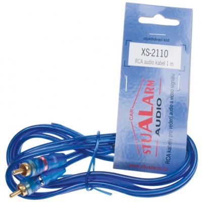 RCA audio kabel BLUE BASIC line, 1m