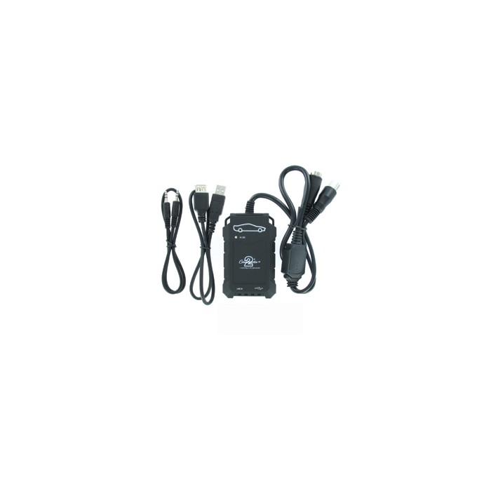 Adaptér pro ovládání USB zařízení OEM rádiem Hyundai, Kia/AUX vstup