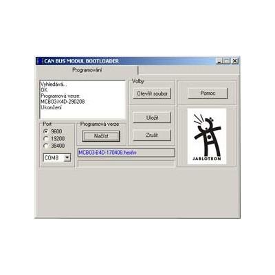Programátor CAN-Bus modulu ja-mcb01