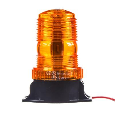 LED maják, 9-24V, oranžový, 30x LED, ECE R10