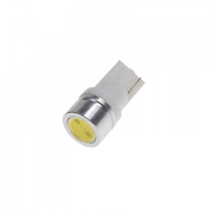 LED žárovka 12V s paticí T10, 1LED/1W superradio
