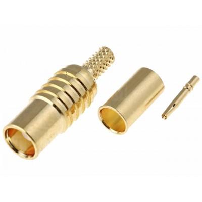 Konektor MMCX samice RG174