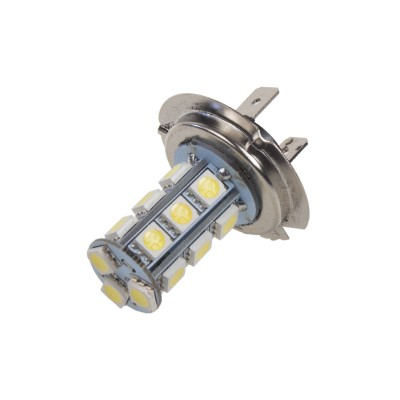 LED žárovka 12V s paticí H7, 18LED/3SMD