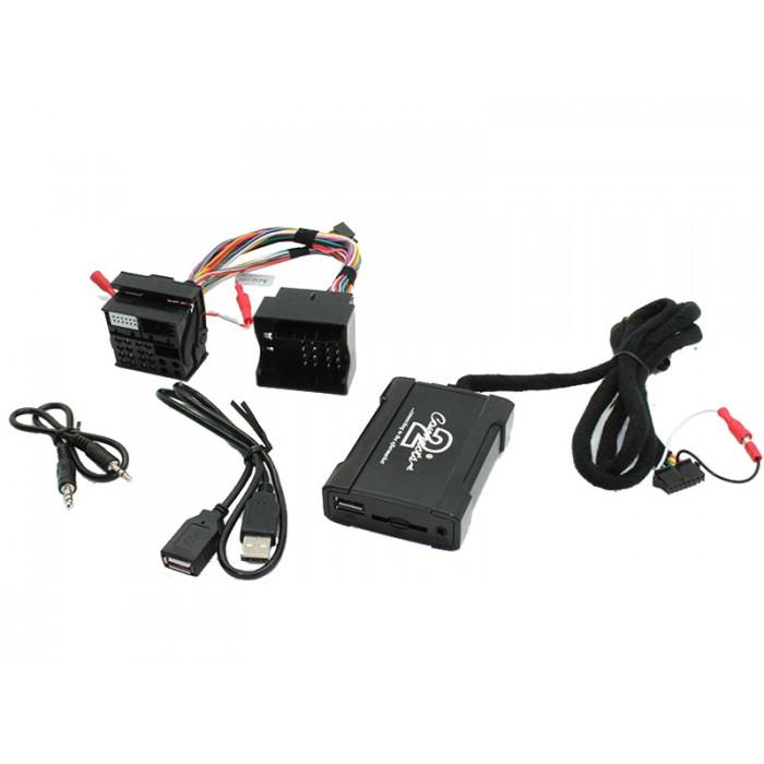 Adaptér pro ovládání USB zařízení OEM rádiem BMWnew/AUX vstup