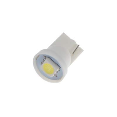 LED žárovka 12V s paticí T10, 1LED/3SMD