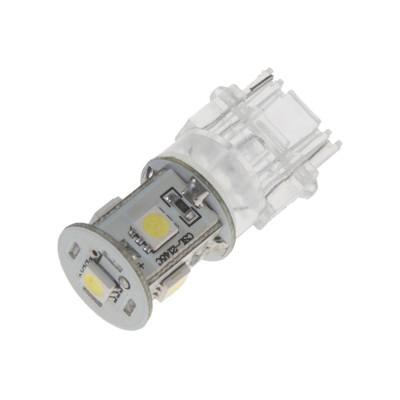 LED žárovka 12V s paticí T20 (3156) bílá, 5LED/3SMD