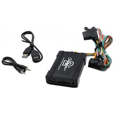 Adaptér pro ovládání USB zařízení OEM rádiem Subaru/AUX vstup