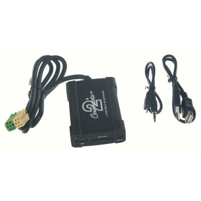 Adaptér pro ovládání USB zařízení OEM rádiem Toyota, Citroën, Peugeot/AUX vstup