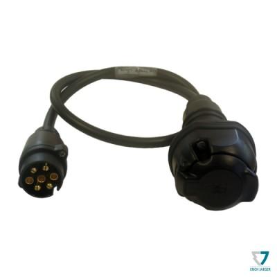 Adapter 7-13pin, kabelový, 1m, Erich Jaeger 711021
