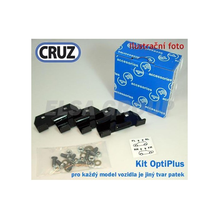 Kit Optiplus Rail FIX P. 508 SW (11-14, 14-18) 936529