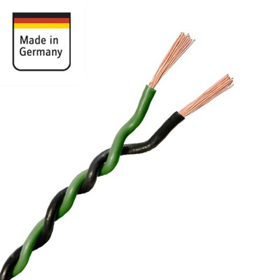 AMPIRE IKV150-GN repro kabel twist 2 x 1,5mm2