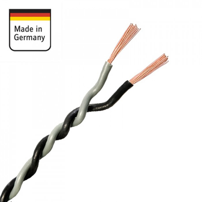 AMPIRE IKV150-GR repro kabel twist 2 x 1,5mm2