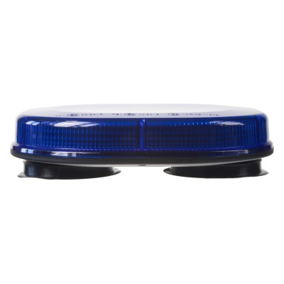 Rampa modrá, 32LEDx3W, magnet, 12-24V, 200mm, ECE R10/R65