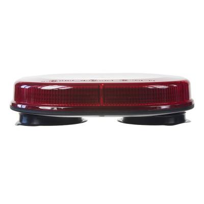 Rampa červená, 32LEDx3W, magnet, 12-24V, 200mm, ECE R10/R65