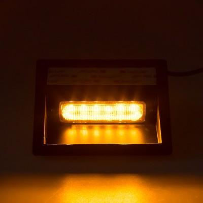 PREDATOR LED vnitřní, 6x LED 5W, 12/24V, oranžový, ECE R10/R65