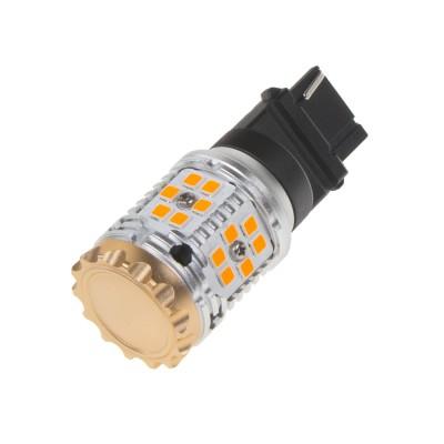 LED T20 (3156) oranžová, CAN-BUS, 12-24V, 30LED/3030SMD