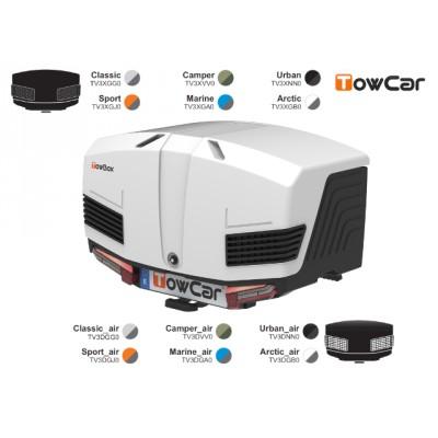 TowCar TowBox V3, perforovaný/uzavřený, na tažné zařízení 092718