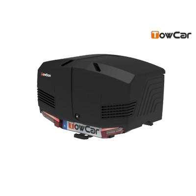 TowCar TowBox V3 černý, perforovaný, na tažné zařízení TV3DNN0